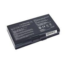 Аккумуляторная батарея для ноутбука Asus M70 14.8V Black 4400mAh OEM