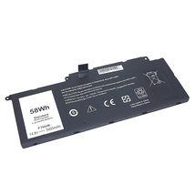 АКБ Dell F7HVR-4S1P 14.8V Black 3900mAh OEM