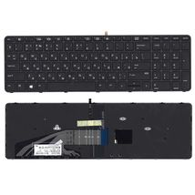 Клавиатура HP Zbook (15 G3, 17 G3) Black с подсветкой (Light) (With Frame) RU