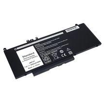 Аккумуляторная батарея для ноутбука Dell 6MT4T Latitude 14-E5470 7.6V Black 6000mAh OEM