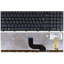 Клавиатура Acer Aspire (5236, 5242, 5250, 5410T, 5810T, 5820) с подсветкой (Light) Black, RU