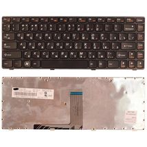 Клавиатура Lenovo IdeaPad (B470, V470) Black, (Black Frame), RU