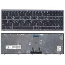Клавиатура Lenovo IdeaPad (G505S, Z510), Black, (Silver Frame), RU