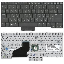 Клавиатура HP Elitebook (2530P) с указателем (Point Stick), Black, RU
