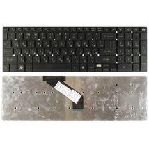 Клавиатура Acer Gateway (NV55) Black, (No Frame), RU (горизонтальный энтер)