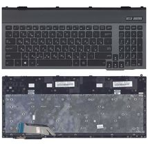 Клавиатура Asus (G55) с подсветкой (Light), Black, (Black Frame) RU