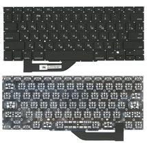 Клавиатура Apple MacBook Pro (A1398) с подсветкой (Light) Black, (No Frame), RU (горизонтальный энтер)