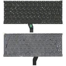 Клавиатура Apple MacBook Air 2011+ (A1369) с подсветкой (Light), Black, (No Frame), RU (вертикальный энтер)