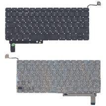 Клавиатура Apple MacBook Pro (A1286) с подсветкой (Light), Black, (No Frame), с (SD), RU (вертикальный энтер)