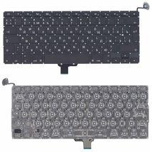 Клавиатура Apple MacBook Air 2011+ (A1278) с подсветкой (Light) Black, (Original), (No Frame), RU (вертикальный энтер)
