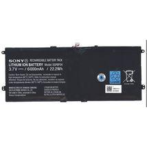 Оригинальная аккумуляторная батарея для планшета Sony SGPBP04 3.7V Black 6000mAhr 22.2Wh
