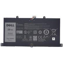 Оригинальная аккумуляторная батарея для планшета Dell 7WMM7 7.4V Black 3520mAhr 28Wh