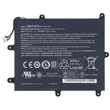 Оригинальная аккумуляторная батарея для планшета Acer BAT1012 7.4V Black 3280mAhr 24Wh