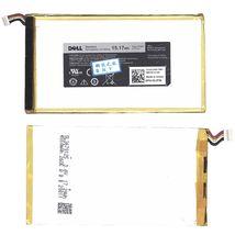 Оригинальная аккумуляторная батарея для планшета Dell P706T 3.7V White 4550mAh 15.17Wh