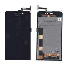 Матрица с тачскрином (модуль) для Asus ZenFone 4 (A450CG) черный