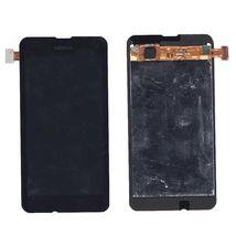 Матрица с тачскрином (модуль) для Nokia Lumia 530 черный