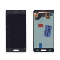 Матрица с тачскрином (модуль) для Samsung Galaxy Alpha SM-G850F черный