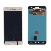 Матрица с тачскрином (модуль) для Samsung Galaxy A3 SM-A300F золотистый
