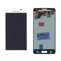 Матрица с тачскрином (модуль) для Samsung Galaxy Alpha SM-G850F белый