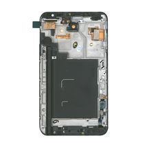 Матрица с тачскрином (модуль) для Samsung Galaxy Note 1 GT-N7000 черный с рамкой