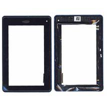 Тачскрин (Сенсорное стекло) для Acer Iconia Tab B1-A71 черное c рамкой
