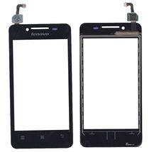 Тачскрин (Сенсорное стекло) для Lenovo IdeaPhone A319 черный