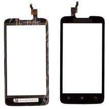 Тачскрин (Сенсорное стекло) для Lenovo IdeaPhone A680 черный