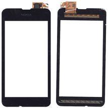 Тачскрин (Сенсорное стекло) для Nokia Lumia 530 черный