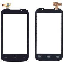 Тачскрин (Сенсорное стекло) для Prestigio MultiPhone 3400 DUO черный