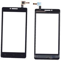 Тачскрин (Сенсорное стекло) для Prestigio MultiPhone 5500 DUO черный