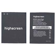 Оригинальная аккумуляторная батарея для Highscreen Alpha 4.2V Black 1500mAhr 5.55Wh