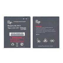 Оригинальная аккумуляторная батарея для Fly BL3812 3.8V White 1650mAhr 6.27Wh