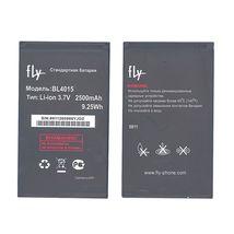 Оригинальная аккумуляторная батарея для Fly BL4015 3.7V Black 2500mAhr 9.25Wh