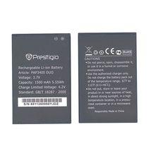 Оригинальная аккумуляторная батарея для Prestigio PAP3400 3.7V Black 1500mAhr 5.55Wh