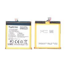 Оригинальная аккумуляторная батарея для Alcatel TLp017A1 3.8V White 1700mAhr 6.46Wh