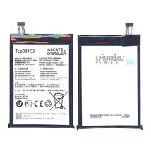 Оригинальная аккумуляторная батарея для Alcatel TLp031C2 3.8V White 3100mAhr 11.78Wh