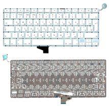 Клавиатура для ноутбука Apple MacBook Pro (A1342) White, (No Frame), RU (вертикальный энтер)