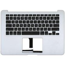 Клавиатура для ноутбука Apple MacBook Air 2011+ (A1369) Black с топ панелью, (No Frame), с подсветкой (Light), RU (горизонтальный энтер)