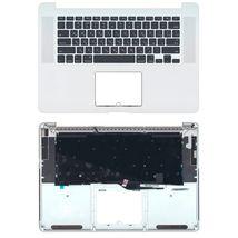Клавиатура Apple MacBook Pro (A1398) Black с топ панелью, RU (горизонтальный энтер)