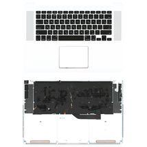 Клавиатура Apple MacBook Pro 2012, Early 2013 (A1398) Black с топ панелью, RU (горизонтальный энтер)