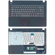 Клавиатура Asus (X451) с топ-панелью Black, (No Frame) RU