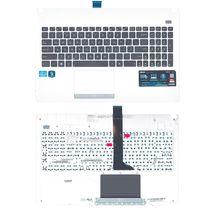 Клавиатура Asus X501A с топ-панелью, Black RU